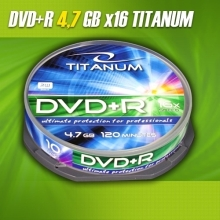 DVD+R Titanum 4,7GB (Cake Box 10 szt.)