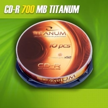 CD-R Titanum 700MB (Cake Box 10 szt.)